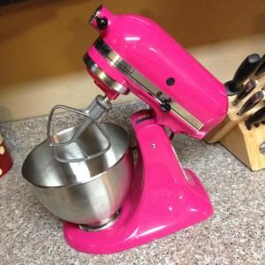 Dear Pink Kitchenaid Mixer…