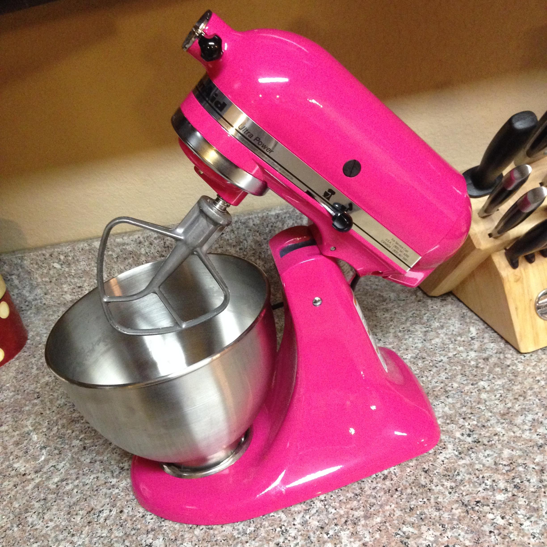 Dear pink kitchenaid mixer ricci alexis - Flamingo pink kitchenaid mixer ...