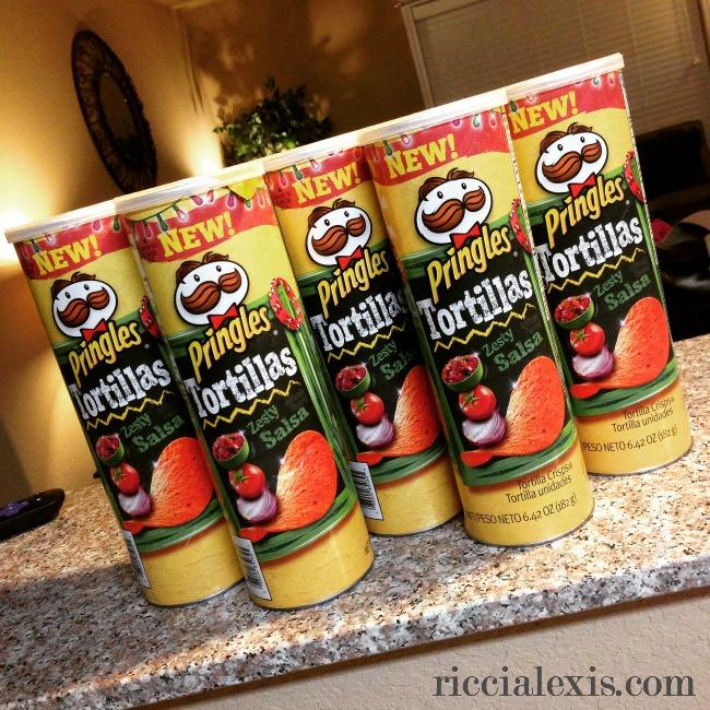 zesty salsa pringles