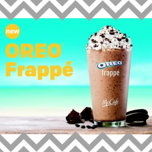 Treat Yo'self with an Oreo Frappe from McDonald's