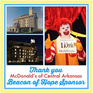 Ronald McDonald House Charities of Arkansas Groundbreaking