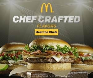 Introducing….McDonald's Chef Crafted Bundles!!