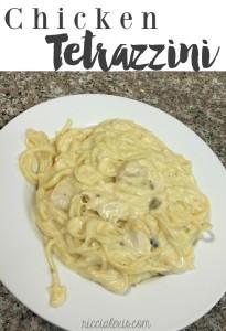 Chicken Tetrazzini {recipe}