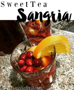 Sweet Tea Sangria ft. Milo's Famous Sweet Tea {recipe}