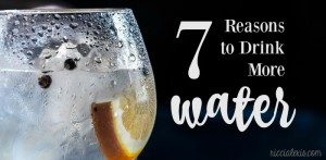 Seven Reasons to Drink More Water
