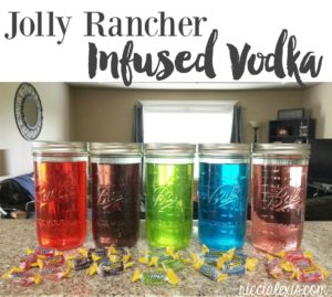 Jolly Rancher Infused Vodka {recipe}