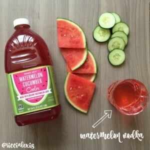 Watermelon Cucumber Splash {recipe}