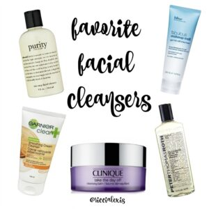 Favorite Facial Cleansers