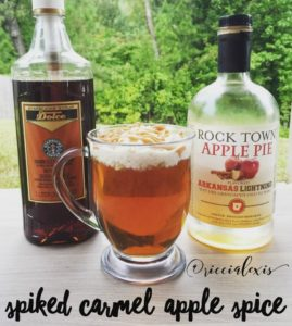 Spiked Carmel Apple Spice {recipe}