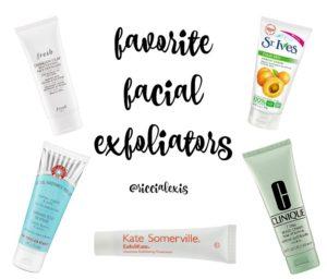 Favorite Facial Exfoliators