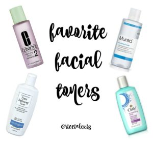 Favorite Facial Toners