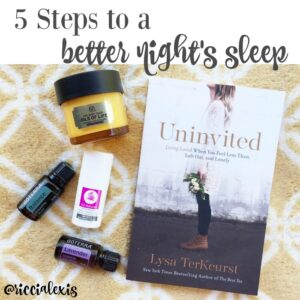 5 Steps to a Better Night's Sleep