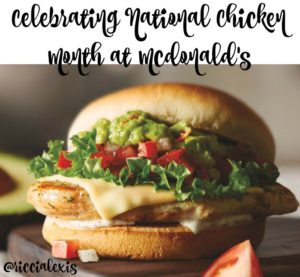 Celebrate National Chicken Month at McDonald's