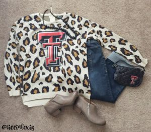 Game Day #OOTD Texas Tech Style!