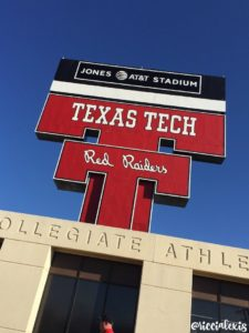Texas Tech Game Day Homecoming 2016