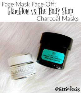 Face Mask Face Off! GlamGlow vs The Body Shop Charcoal Masks