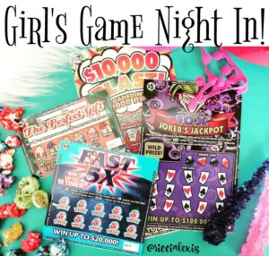 Girl's Game Night In!