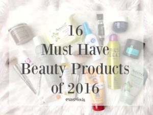 16 Must Have Beauty Products of 2016