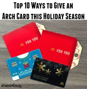 Top 10 Ways to Give an Arch Card this Holiday Season