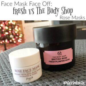 Face Mask Face Off! The Body Shop vs fresh Rose Masks