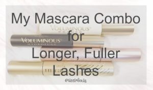 My Mascara Combo for Longer, Fuller Lashes!