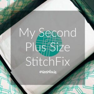 My Second Plus Size Stitch Fix