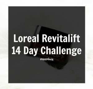 Loreal Revitalift 14 Day Challenge