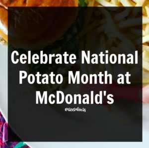 Celebrate National Potato Month at McDonald's