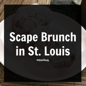 Scape Brunch in St. Louis