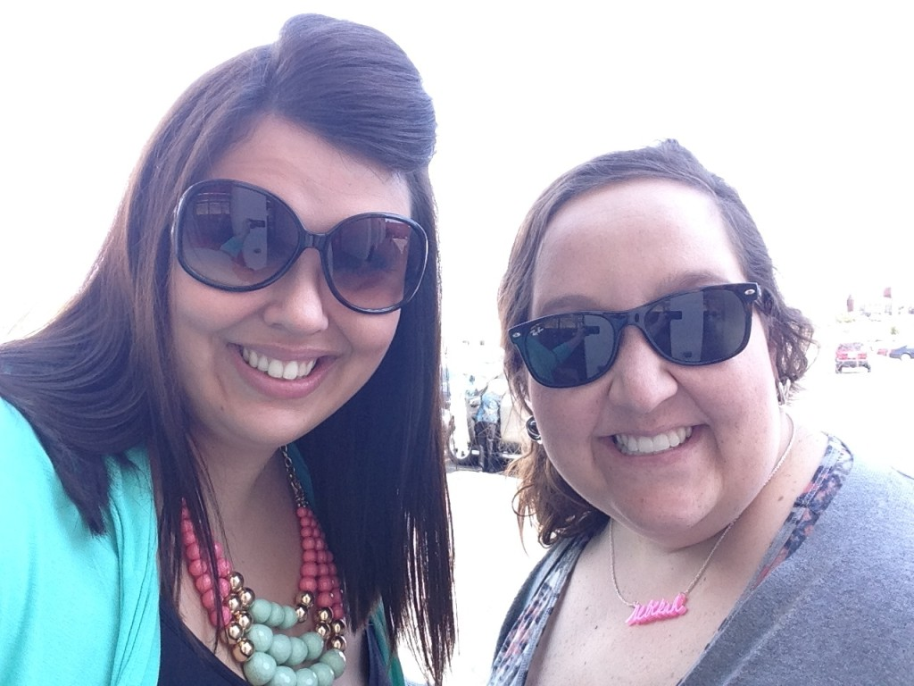 Me and Rebekah