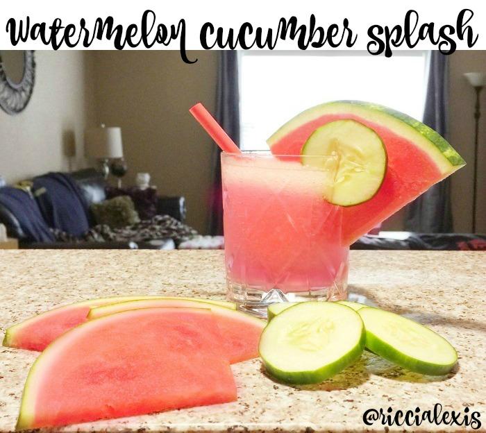 watermelon cucumber splash
