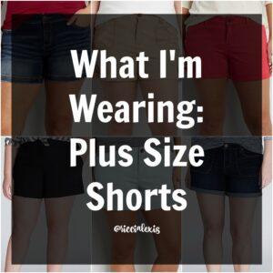 What I'm Wearing: Plus Size Shorts