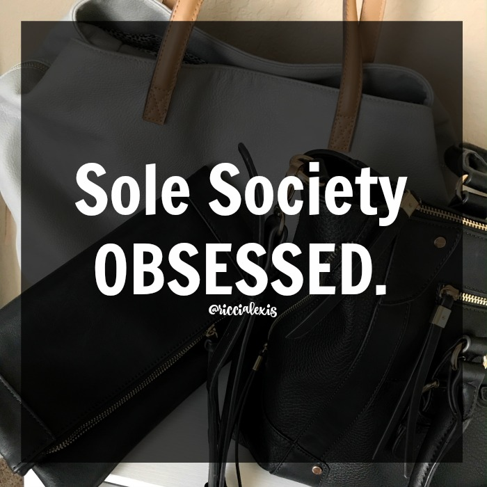 f9886a14854c The first Sole Society bag I purchased is the Marlena Clutch in black faux  leather. I love this bag because even though it's a clutch it's super roomy  and ...