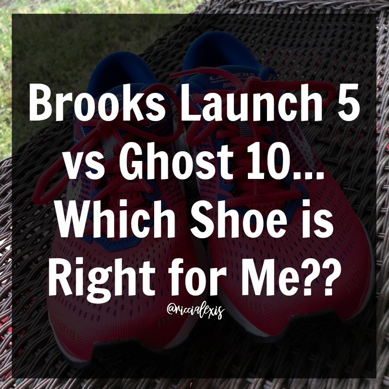 9c776fbb21281 ... just tried and fell in love with their shoes so today when I compare  and contrast the Brooks Launch 5 and the Brooks Ghost 10 it is based solely  on my ...