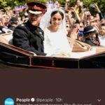 The Royal Wedding ~ Harry & Meghan