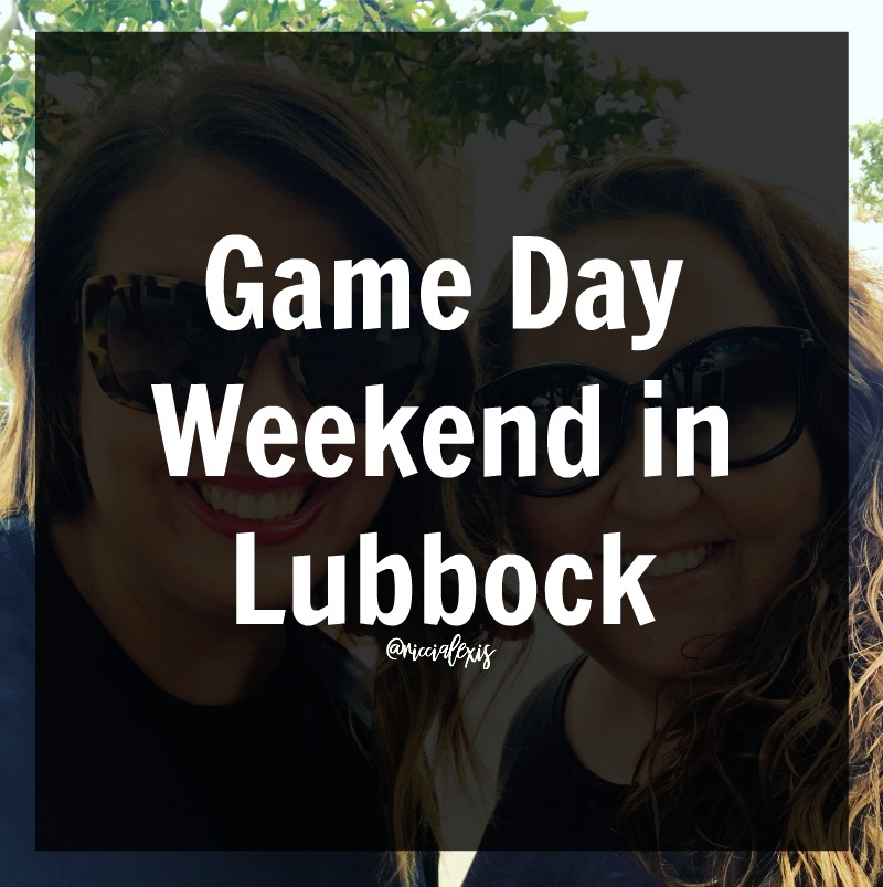 game day weekend in Lubbock